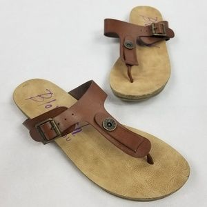 Blowfish Malibu Buckle Sandals Size 9